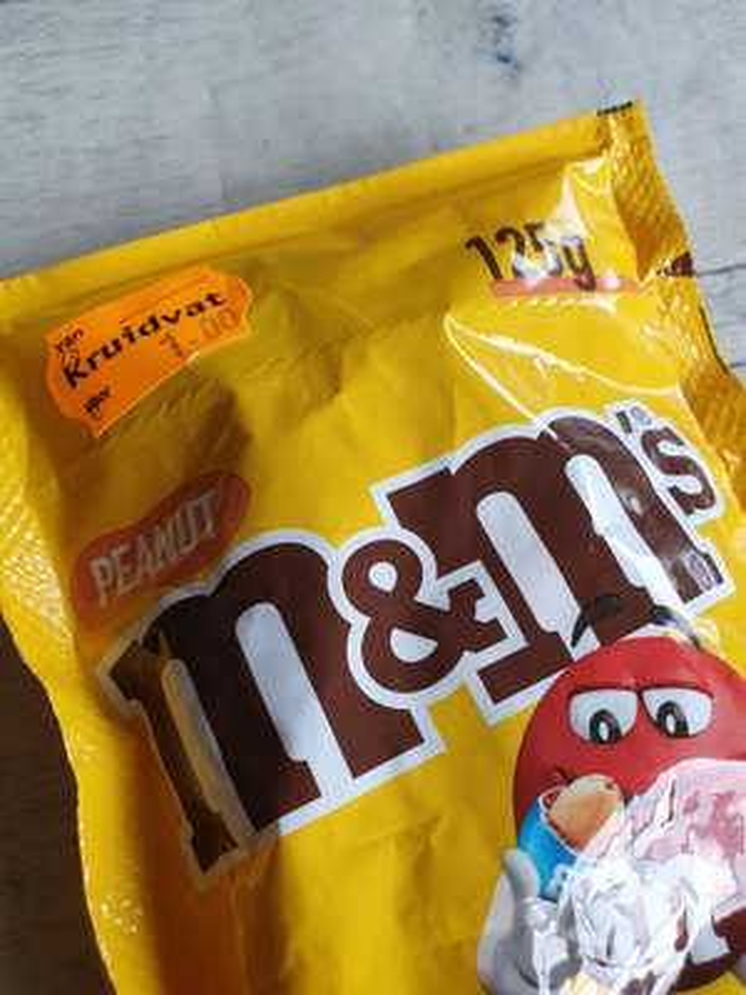 [LOKAAL] M&Ms peanut/choco (125g) @ Kruidvat