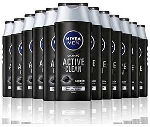 NIVEA MEN Active Clean Shampoo 12 × 250 ml @ Amazon.nl