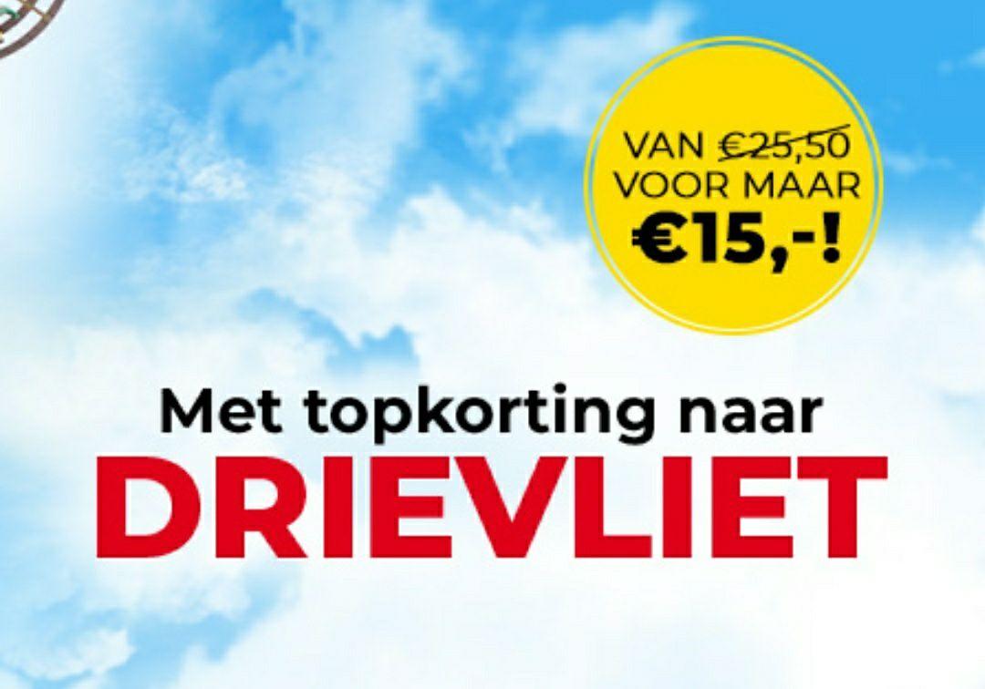 Familiepark Drievliet €15,70 (IPV €25,50)
