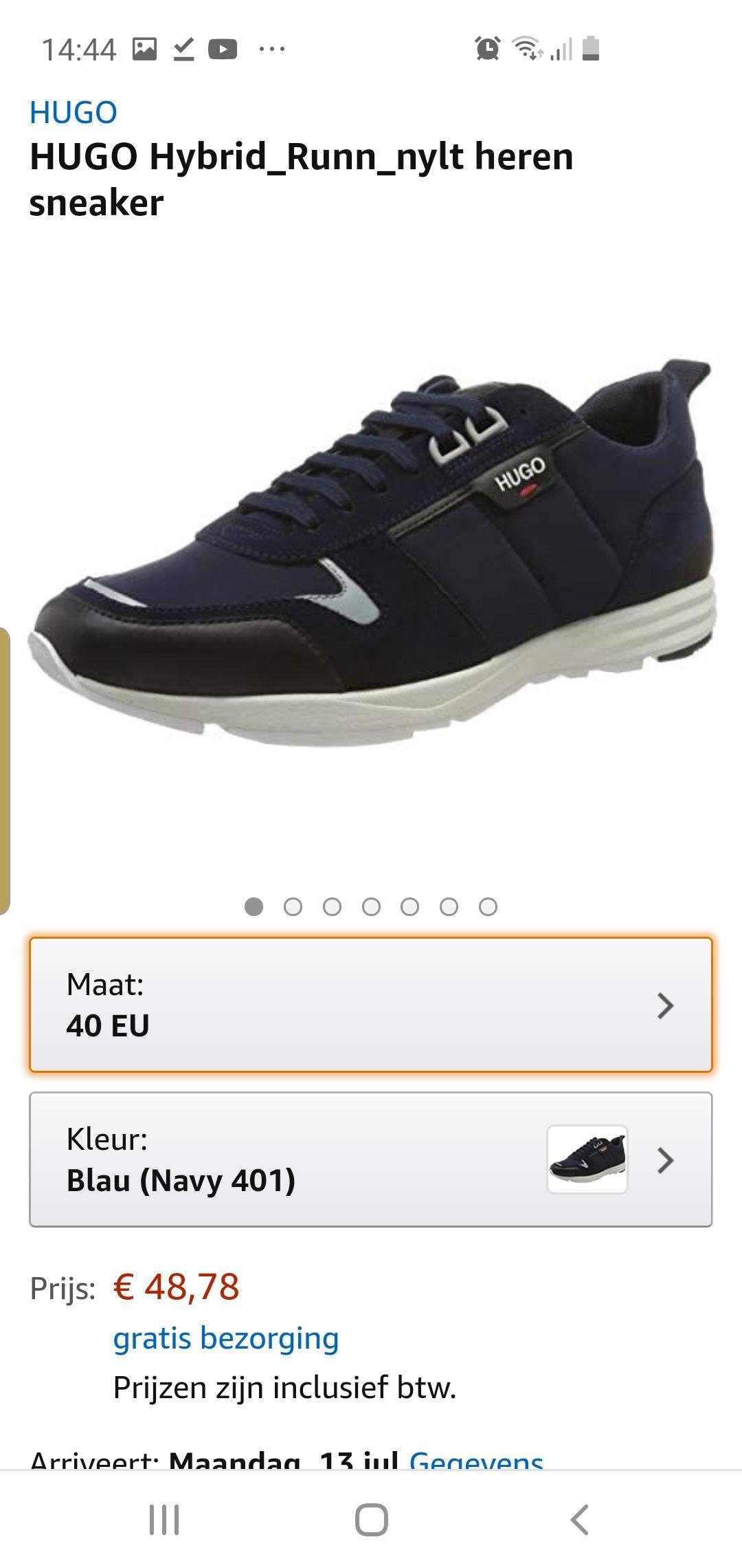 Hugo boss schoenen amazon.nl