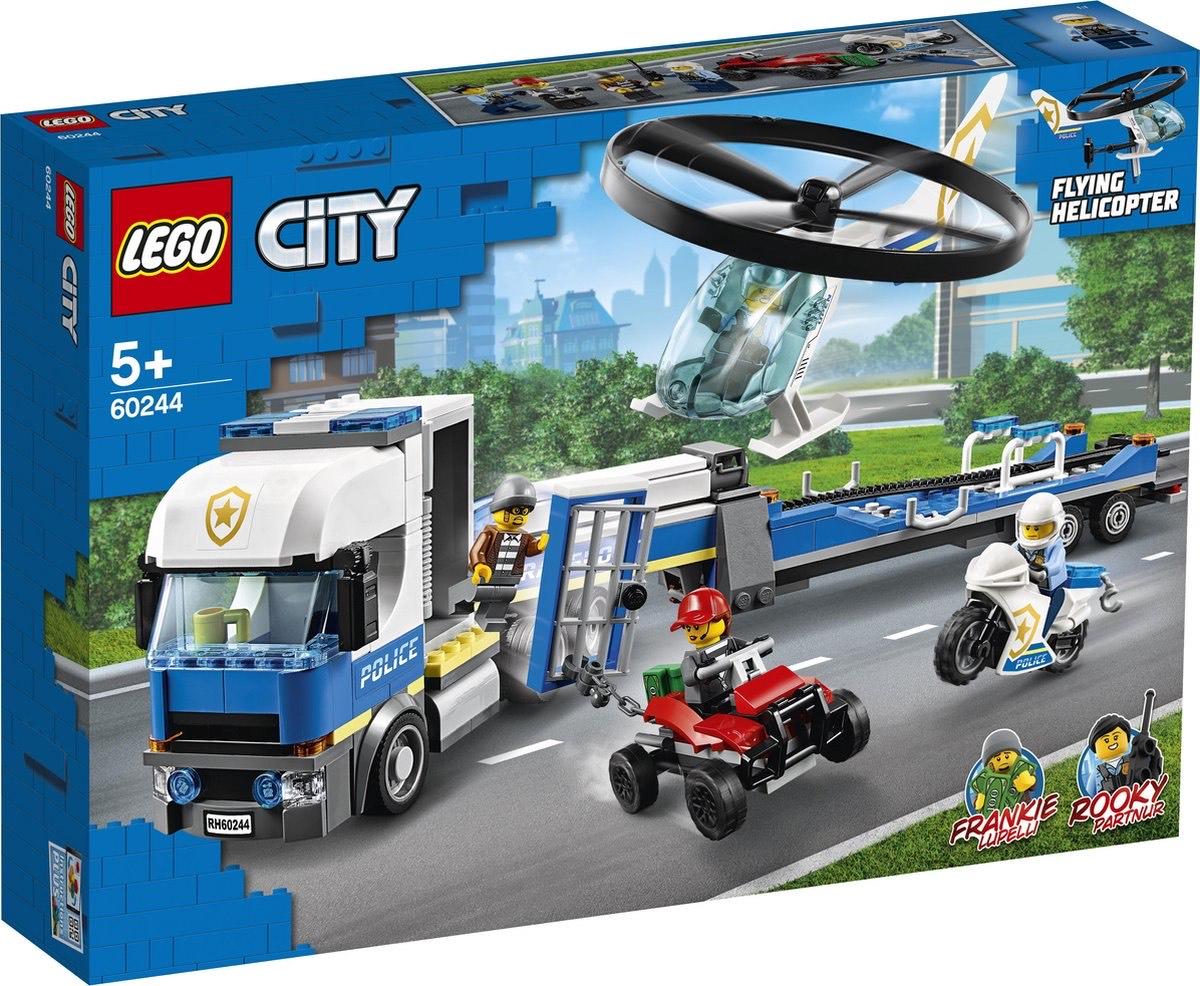 Lego City Helikoptertransport (60244). Nu laagste prijs ooit!
