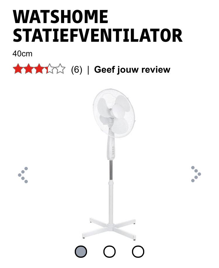 Watshome statief ventilator