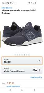 New balance sneakers amazon.nl