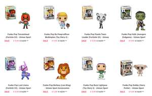 Verschillende Funko Pop! figuren (Disney + Fortnite + Harry Potter)