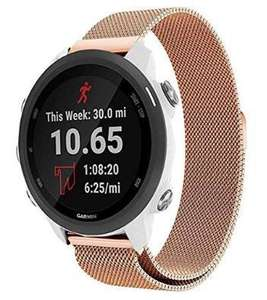 Garmin Vivomove HR Milanese band - rosé goud - 42mm @ bol.com