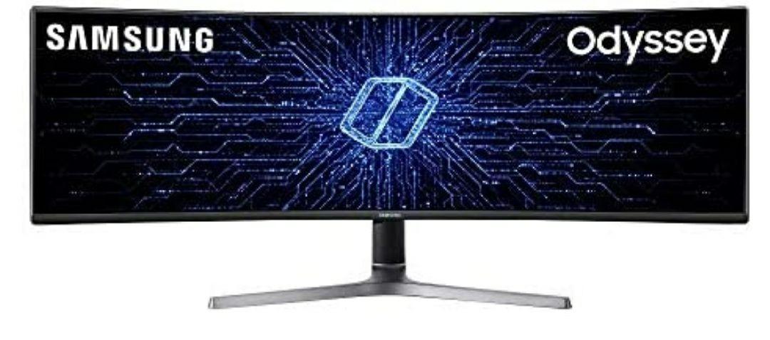 "Samsung C49RG90 (49"" ultrawide, 5120x1440, 120Hz, 4ms, HDR10, FreeSync, QLED)"
