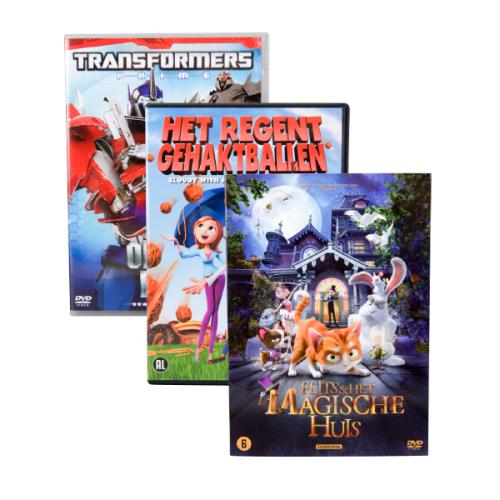 Kinder & familie DVD (diverse titels) voor €1,99 @ Action