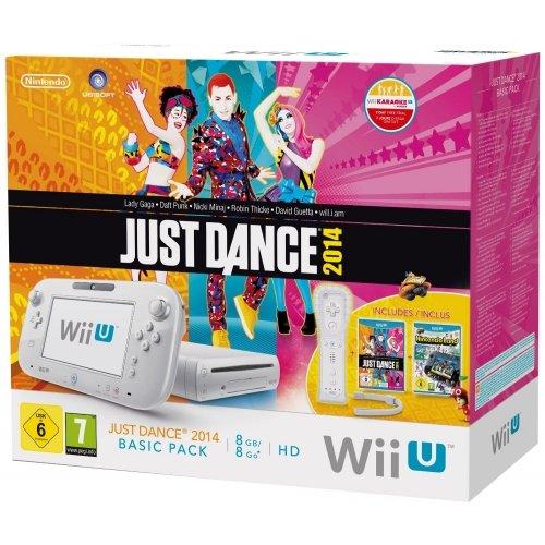 Wii U 8GB + Nintendo Land + Just Dance 2014 + Wii Remote Plus voor €186,60 @ Amazon.it