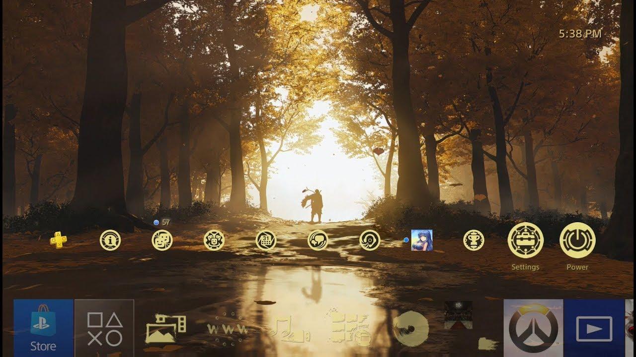 Gratis Ghost of Tsushima Dynamic Theme PS4 @ PSN