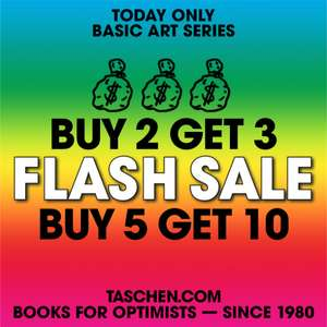 Buy 2 Get 3, Buy 5 Get 10 @ Taschen Basic Art Series