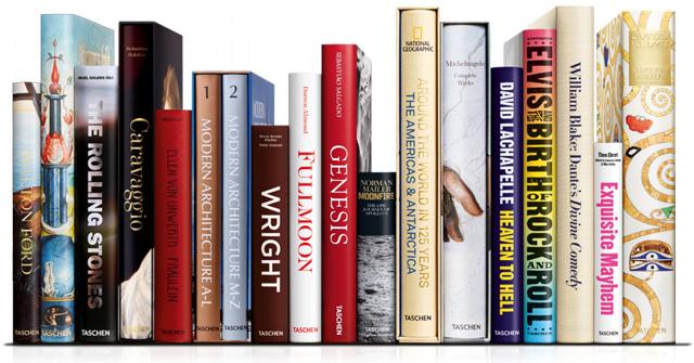 halfjaarlijkse uitverkoop 33-75% korting op luxe Taschen boeken