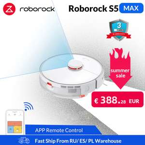 Roborock S5 Max Robotstofzuiger Sale+Coupons @AlieExpress