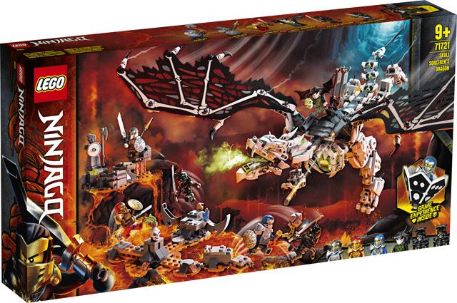 LEGO® NINJAGO® Skull Sorcerer's Draak 71721