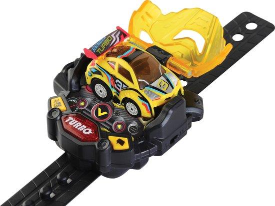 VTech - Turbo Force Racers Racer - Geel - Plastic - Voor Jongens en Meisjes - Van 5 tot 12 jaar - Nederlands Gesproken