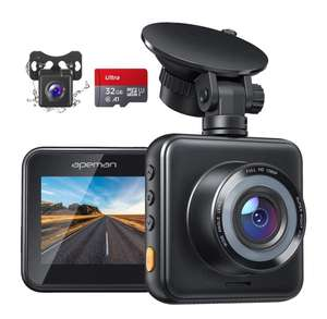 APEMAN 1080p FHD Dual Mini-Lens dashcam C420D