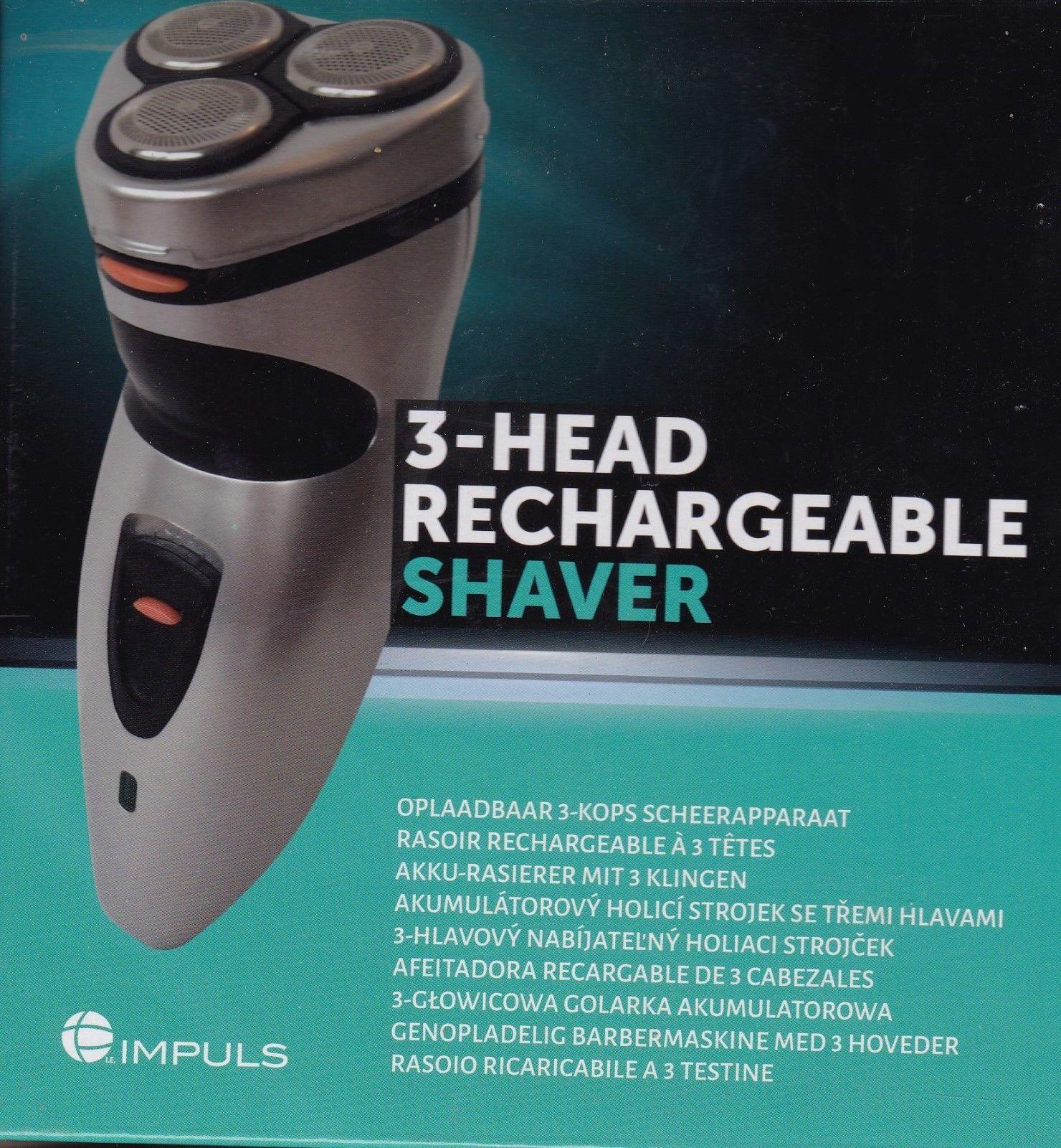 Impuls - Oplaadbaar 3-kops scheerapparaat @Action Overvecht