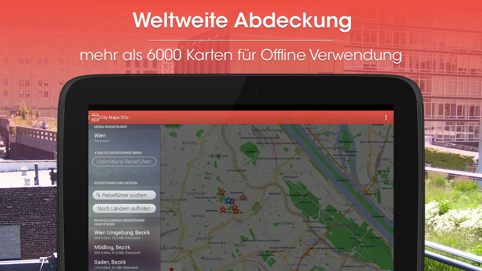 City Maps 2Go Pro (Offline Maps) gratis door code @ Google Play