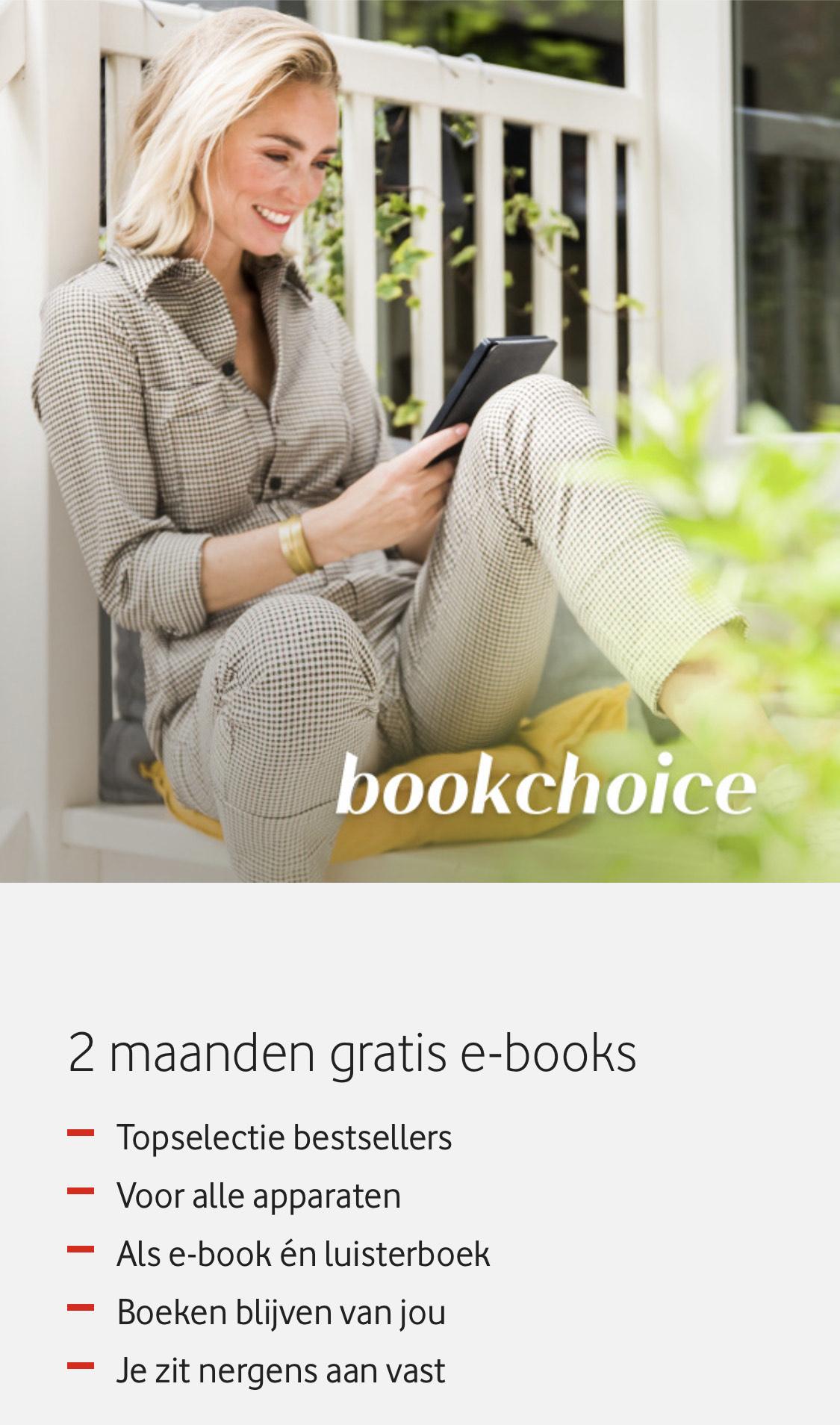 Twee maanden gratis Bookchoice als Vodafone klant