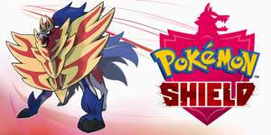 Pokémon Shield US Key (Nu ook Pokémon Sword!)