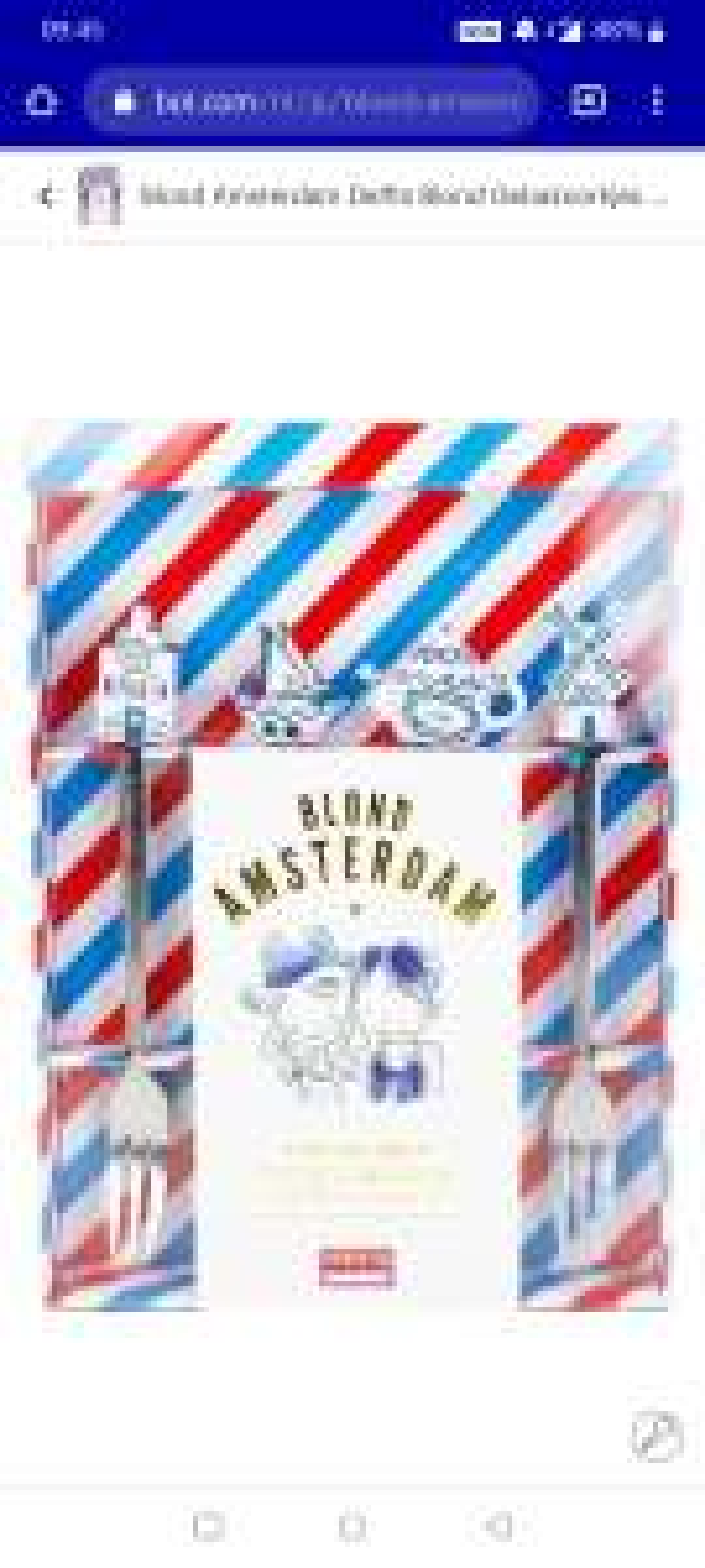 Blond amsterdam vorkjes delfts blauw