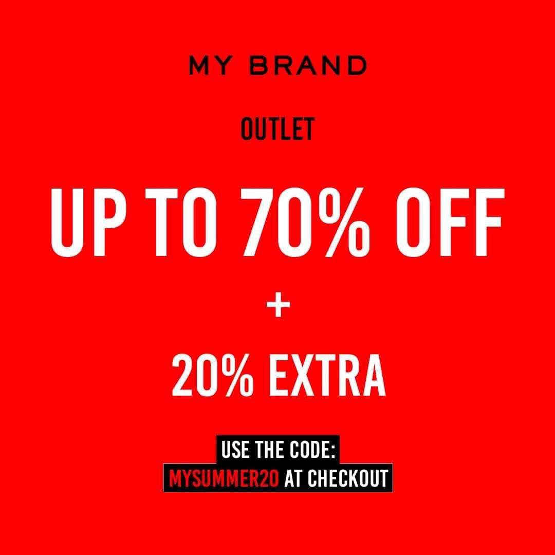 My Brand 20% extra korting op de sale(tot 70%)