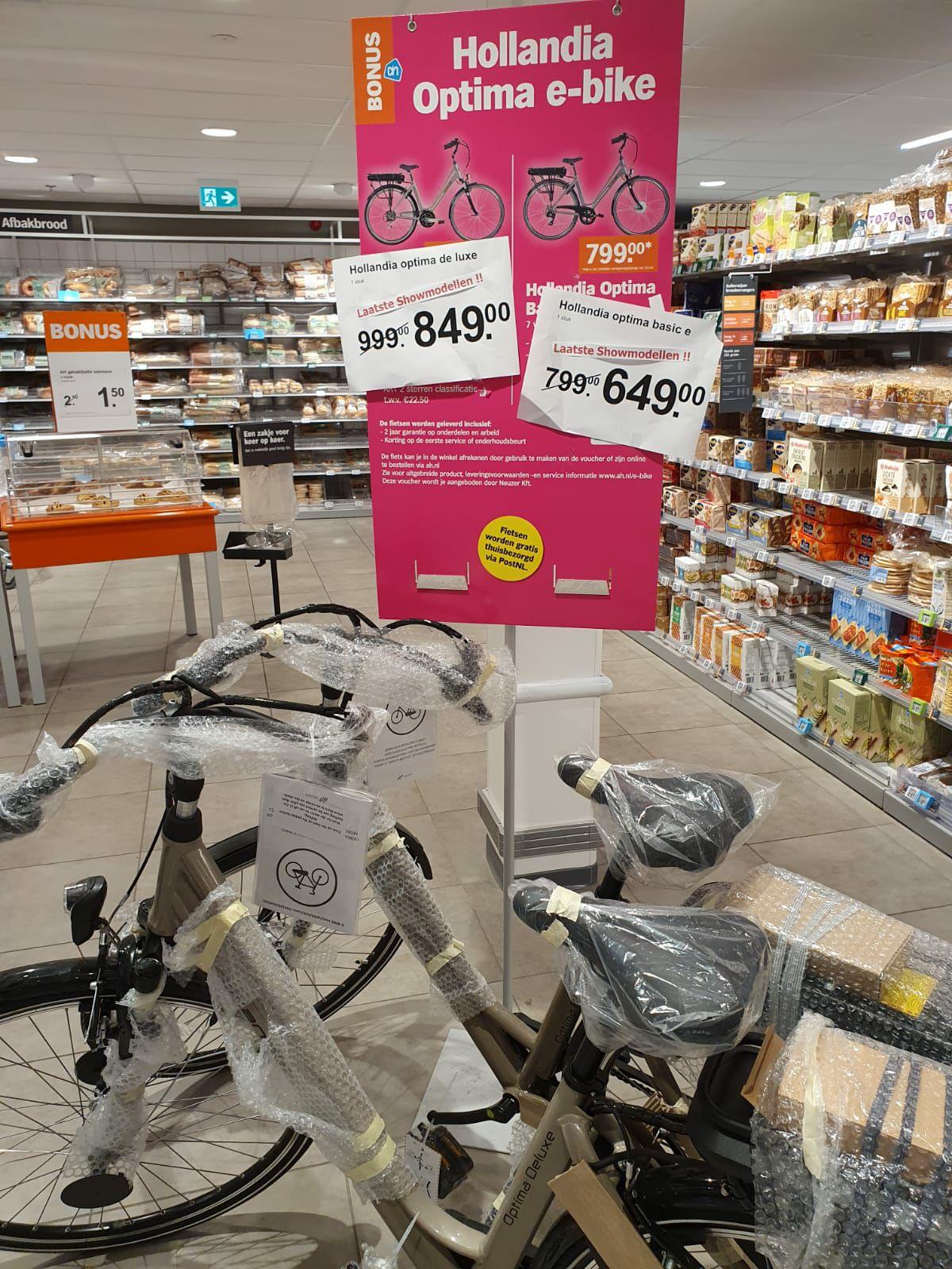 Hollandia e-bike basic Albert Heijn