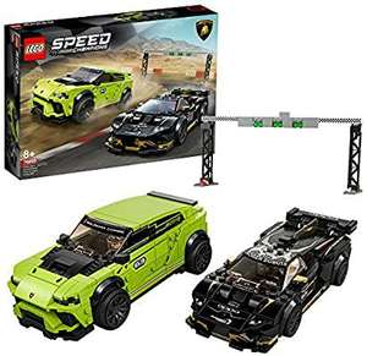 Lego Lamborghini Urus ST-X & Lamborghini Huracán Super Trofeo EVO (76899)