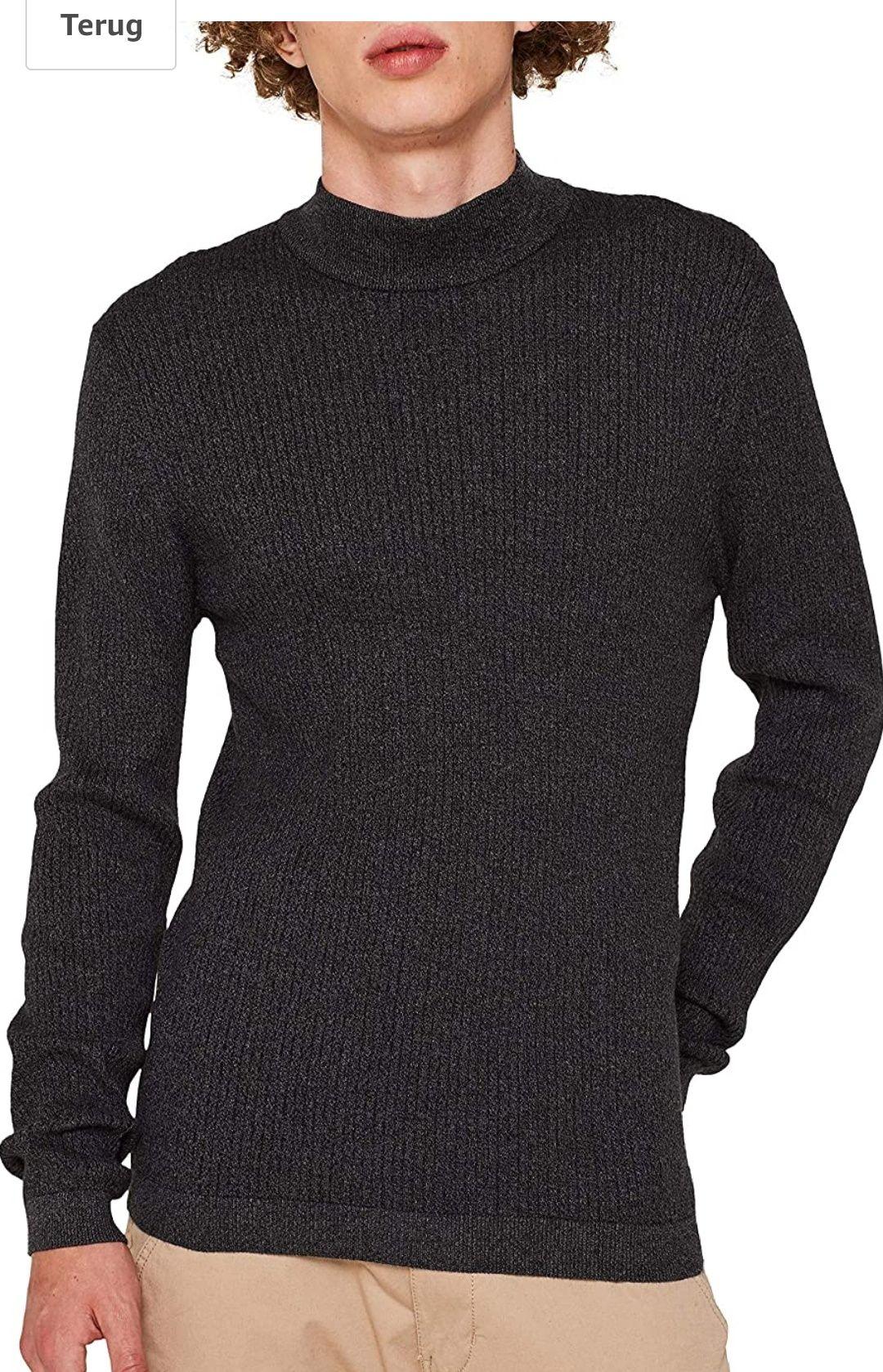 Edc by ESPRIT heren pullover grijs