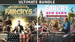 [PC] Far Cry® 5 Gold Edition + Far Cry® New Dawn Deluxe Edition Bundle