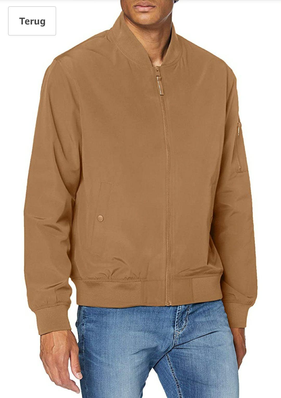 ESPRIT heren jas/jack beige @ Amazon.nl