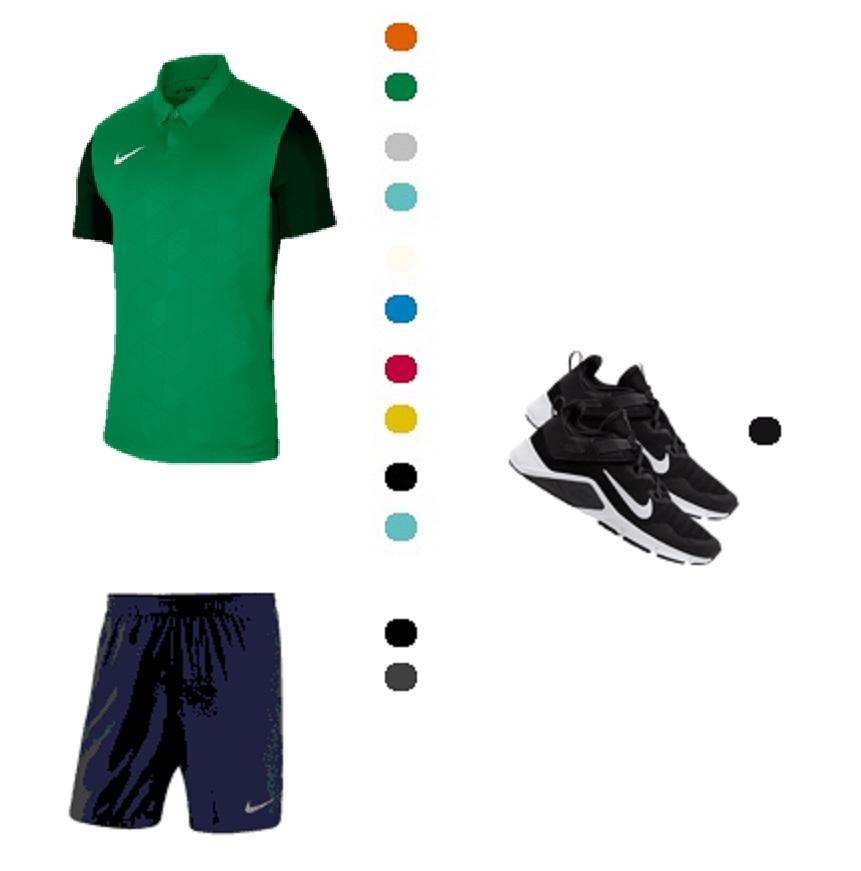 Nike Academy Trainingsset div. kleuren (shirt, short + schoenen) voor €68,45 met verz.