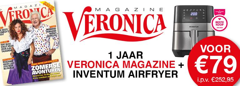 Veronica magazine + Inventum Airfryer GF350HLD