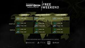 Ghost Recon Breakpoint Free Days 16 Juli - 20 Juli (PS4 & Xbox One & PC)