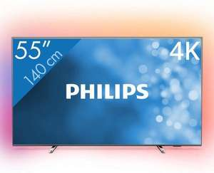 Philips 55PUS6754 | 55 inch 4K UHD Ambilight TV @ Bol.com