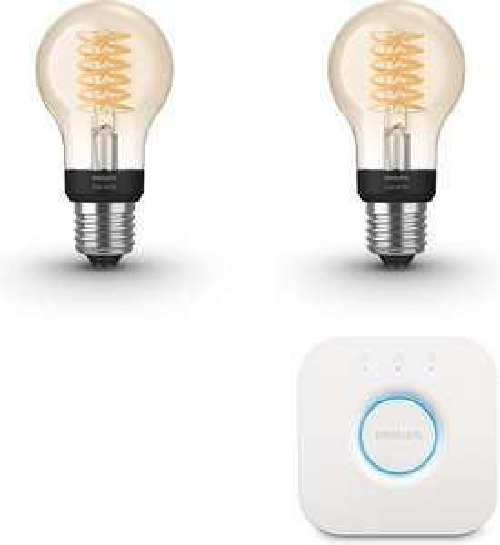 Philips Hue Starterspakket Filament @ Bol.com