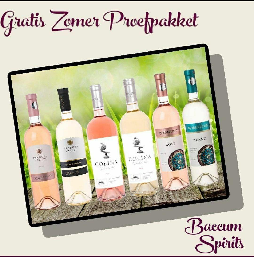 Gratis wijn proefpakket @ Baccum Spirits