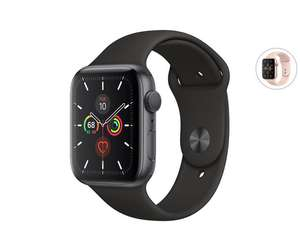 Apple Watch Series 5 | 40 mm | GPS Only Space Grey + zwart/Gold Case + roze
