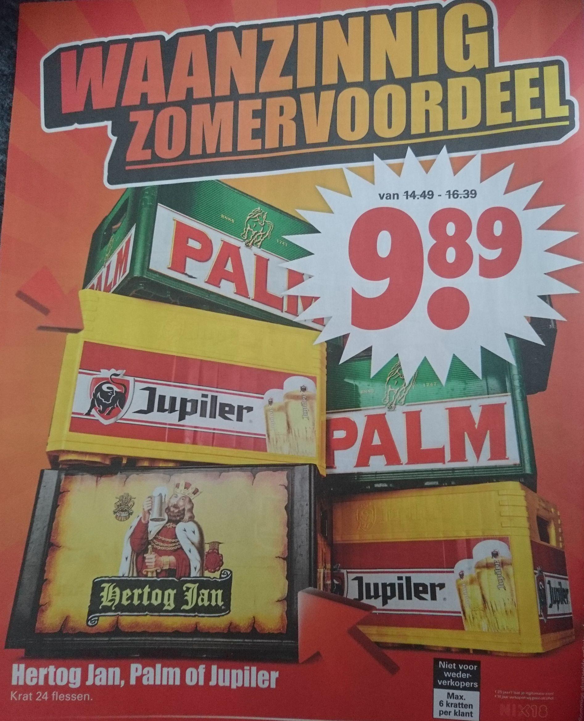 Krat Hertog Jan, Palm of Jupiler