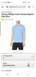 Tommy hilfiger polo's amazon.nl