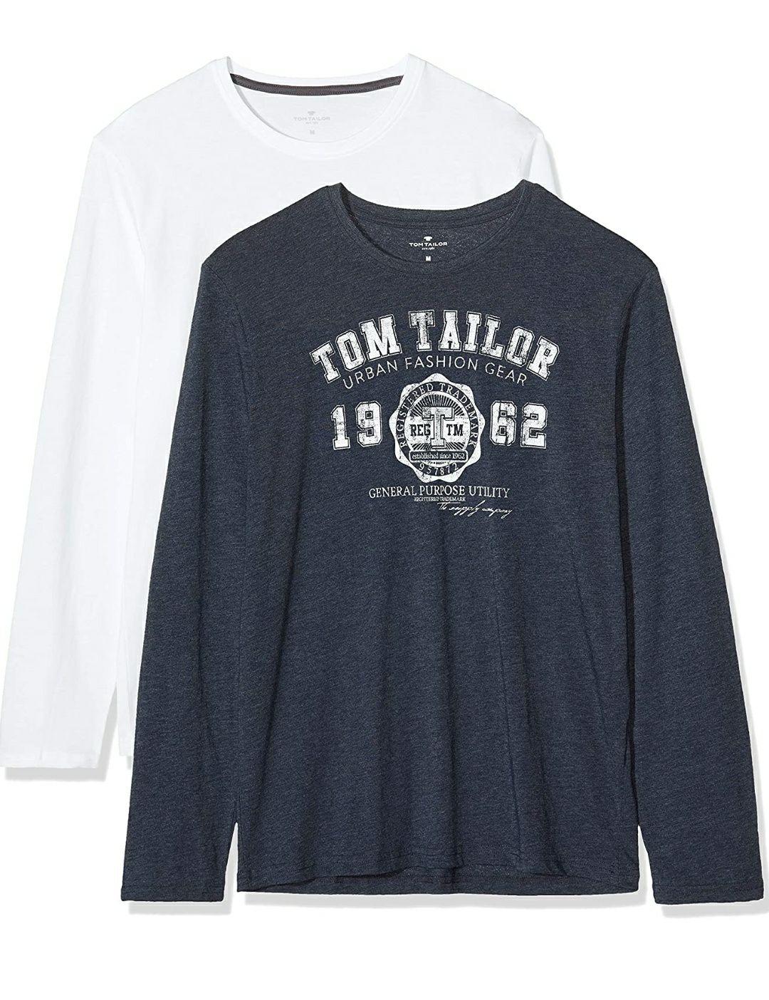 Tom Tailor heren shirt met lange mouwen 2 stuks