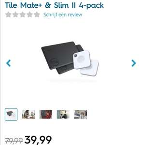 Tile Mate+ & Tile Slim II 4 pack