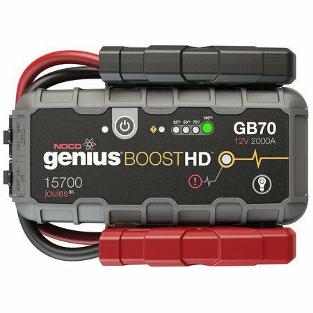 NOCO Boost HD GB70 lithium-autoaccu starthulp pakket