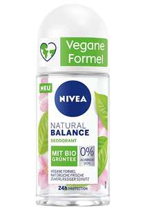 Nivea Natural Balance Bio Aloë Vera Roll On Bio groene thee
