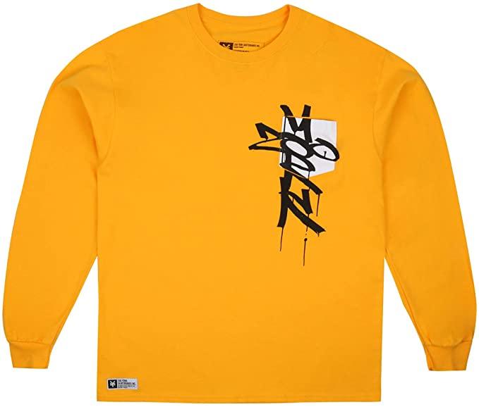 Maat S Zoo York Long Sleeves Skatewear (geel/zwart/oranje)