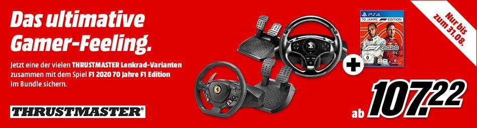 [Grensdeal] F1 2020 + Thrustmaster stuur @ MediaMarkt Duitsland