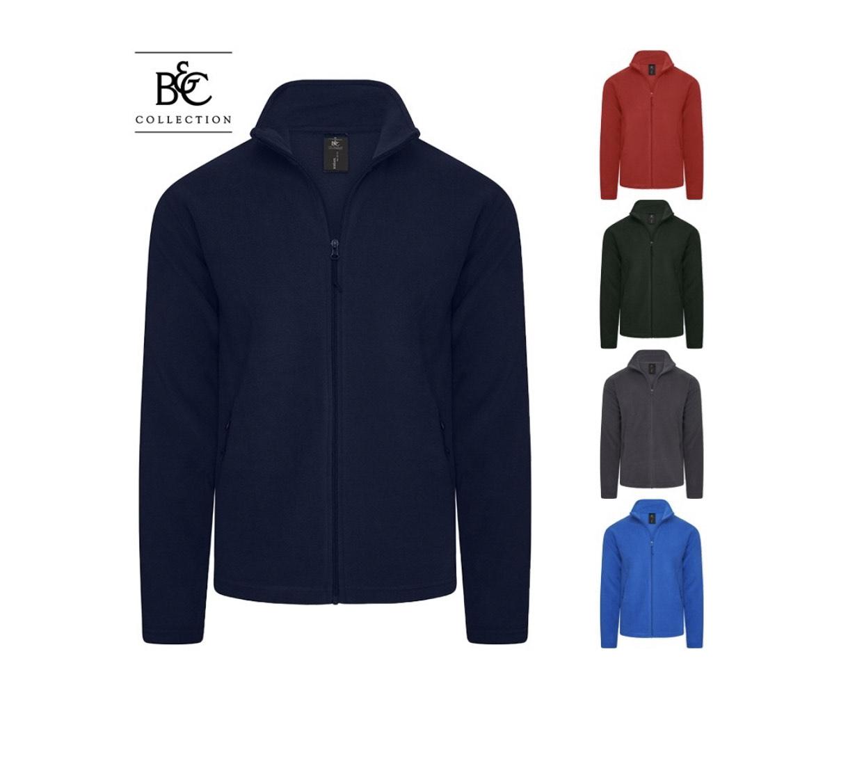 Fleece jas van B&C