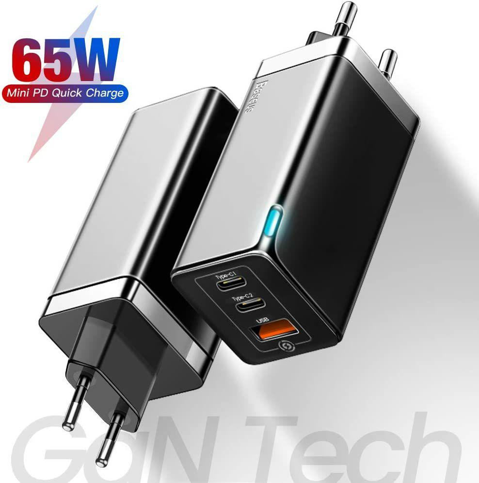 Baseus 65W PD GaN charger