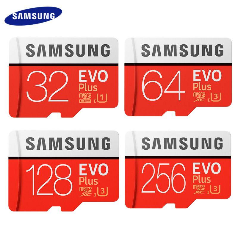 Korting op Samsung EVO plus 64 128 256 512 SD kaarten