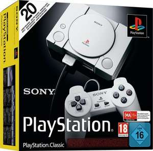 Sony PlayStation - classic - grijs - console - twee controllers