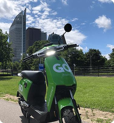 [voor sommigen alleen lokaal Den Haag] Go Sharing scooters 30 minuten gratis voor nieuwe accounts